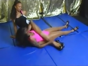 Pantyhose & Heels Submission Wrestling