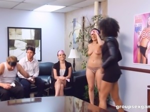 Victoria Lawson and her girlfriends love erected dicks