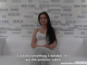 czech casting call - will you give her the part?