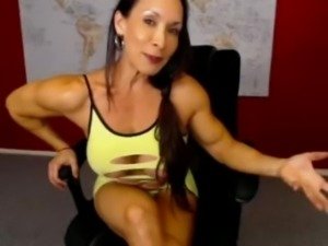 Denise On Webcam 2-04-2015