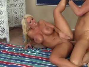 Alura Jenson likes to get fucked anally and her ass is awesome to the max