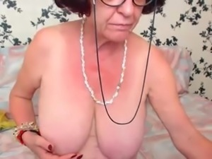 Redhead Granny on Cam - Part 2