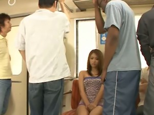 Black stud fucks tight Japanese pussy of lusty Asian slut Iori Miduki