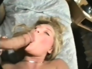 White Babe Measures Huge Big Cock Makes Her Pussy Wet