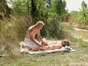 Formidable fucking affair with alluring blonde Tracy Love
