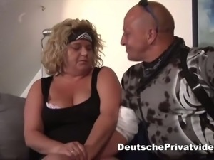 This BBW blonde with big boobs loves bikers and she wants my dick inside her