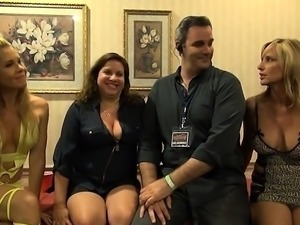 Group sex with charming european girls