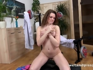 Becky Berry loves to masturbate and the girl is so flirtatious and hot