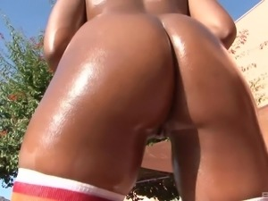 Lovely Amber Star gets naked for an amazing sex session