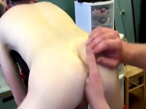 Young gay boy sex on farm First Time Saline Injection for Caleb