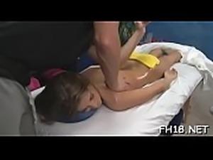 Naked massage clip
