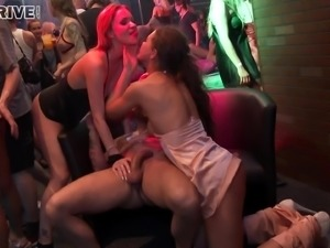 When Angel Piaf and her sexy friends go to the club, they fuck