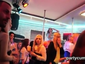 Kinky girls get totally wild and naked at hardcore party32WA