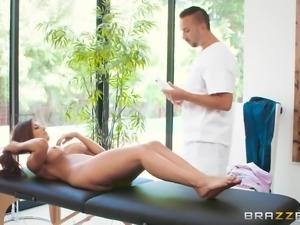 deepthroating the masseur