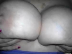 Big boobs asshole handjob