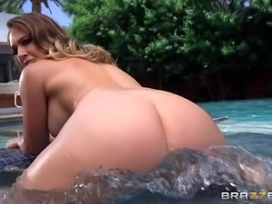 Magnificent group sex with attractive Rebecca More and Tina Kay