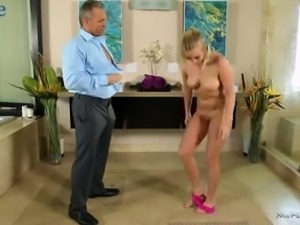 Bailey Brooke is a buxom masseuse who loves giving stud a ride on top