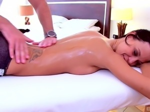 Amazing doggy style pussy smashing with salacious Amy Lee