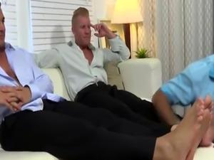 Teen gay fetish clips Ricky Worships Johnny & Joey's Feet