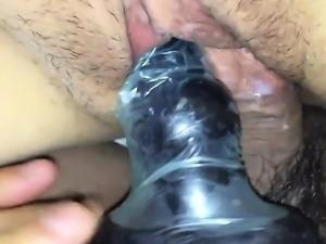 Hairy Teen Solo Masturbation