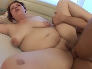beautiful BBW in sex scene