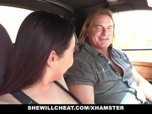 SheWillCheat- Cheating GF Karlee Grey Fucks Personal Trainer