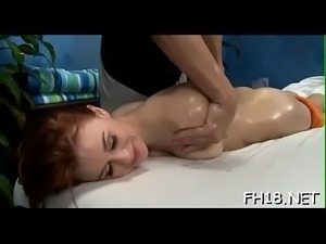 Raunchy massage clips