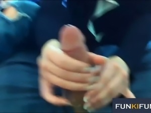 These amateur hot chicks can't resist a man with a nice hard cock