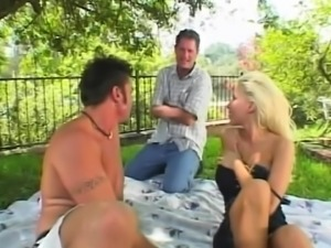 Big boobs girlfriend hardcore gangbang