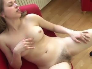 I film my sexy Gf smoking cigarette and masturbating
