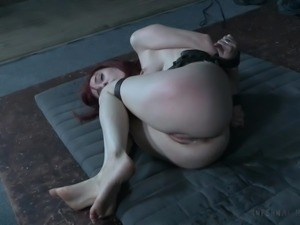 redhead in the sex dungeon