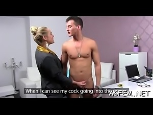 Sex is all our female agent needs