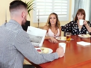 Wife's best friend Averie Moore just can't resist having him