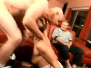 Fine lascivious white milfis hungry for dicks and threesome