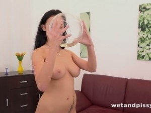Nicol Love is a flirty vixen and she is always happy to masturbate