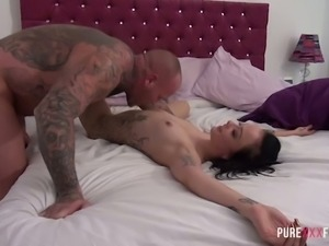 Extremely hard doggy banging is worth enough as Alessa Savage needs it