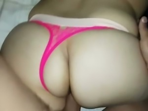 My sweet babe with super juicy bubble ass loves doggy style sex