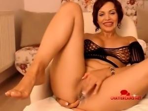 Mature bbw amateur smoking blowjob on sexdate webcam