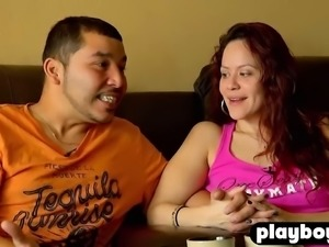 Chubby swinger couple fucks with other swinger couples