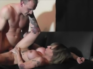 Gina Snake with big tits smashed hardcore deeply