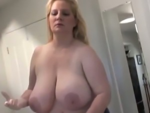 Wearing white gloves whorable chunky wife of my neighbor wanks his dick