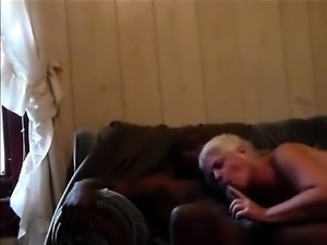 Interracial webcam she takes big black cock