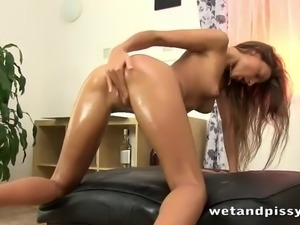 adorable pissing fetish babes with nice ass masturbating while moaning