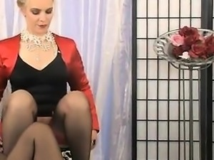 Servant girl face is sat on by mistress LeFontane