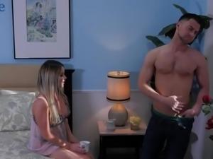 Dude in black mask fucks fucking hot nextdoor babe Rachele Richey