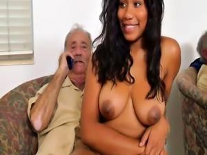 Hottest brunette anal xxx Glenn ends the job!