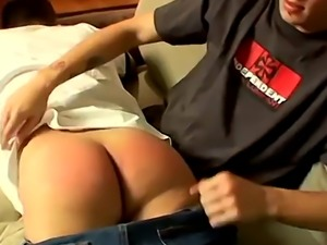 Younger boys gay spanking videos and spanked penis film first time Rav