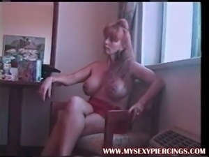My Sexy Piercings - Pierced MILFs with huge toys
