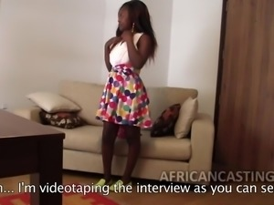 African porn model is confident of job