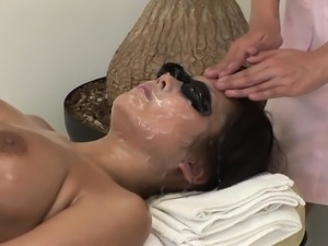 JAV full body bizarre cum facial massage clinic Subtitled